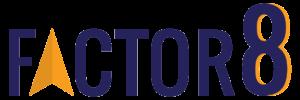 Factor 8 Sponsor Logo